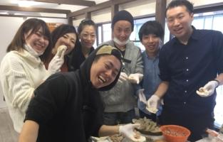餃子 手作り オフィス イベント