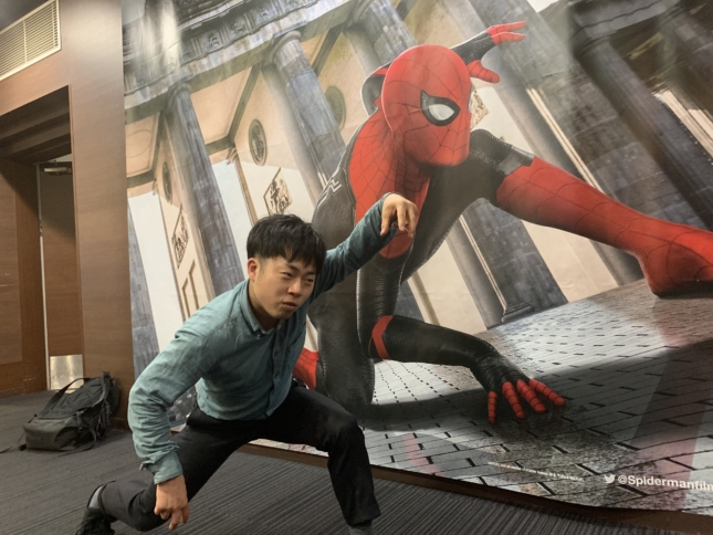 映画 梅田ブルク スパイダーマン アラジン