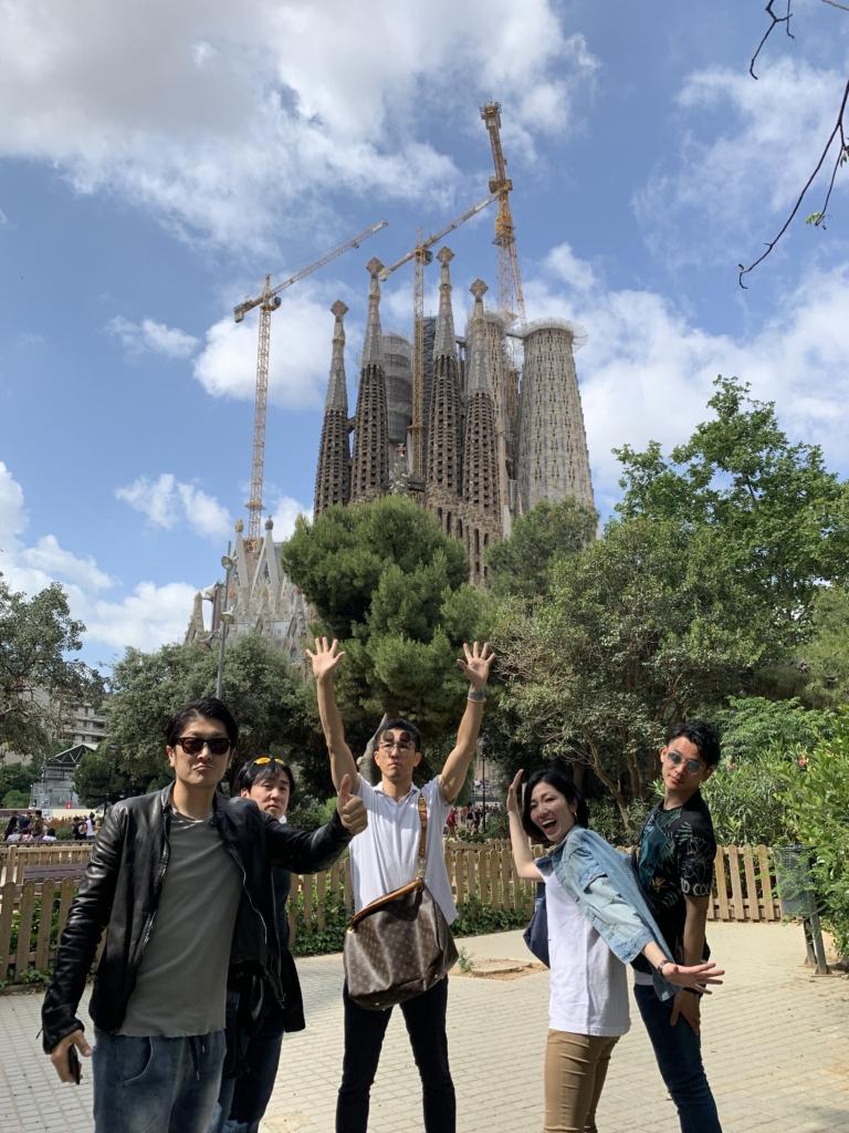 スペイン サグラダファミリア 観光