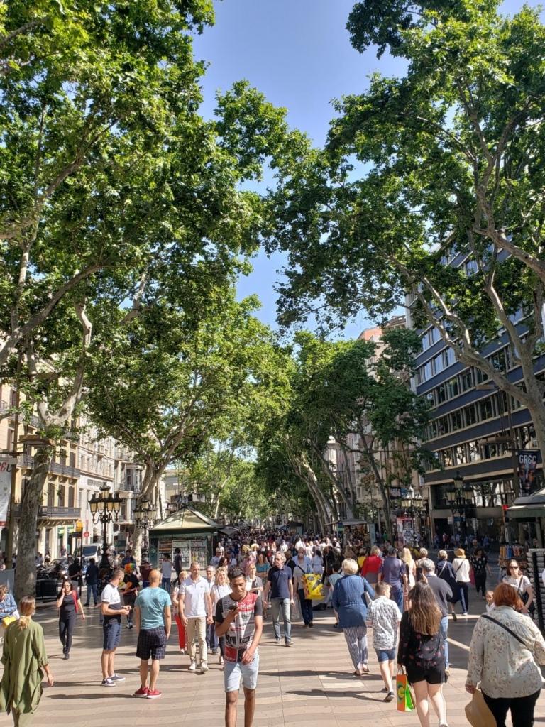 スペイン バルセロナ 街