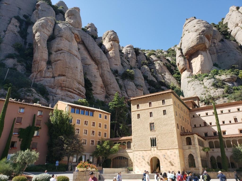 モンセラット修道院 スペイン