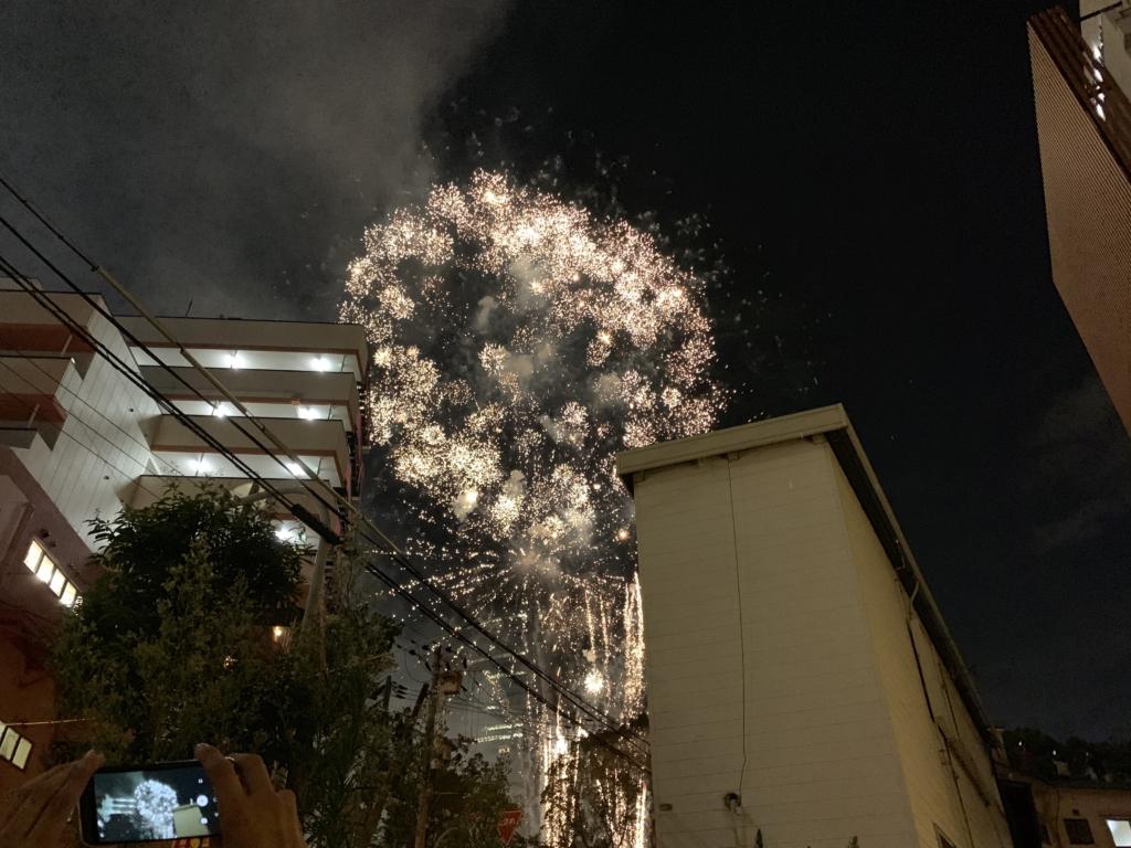 天神祭 大阪 花火