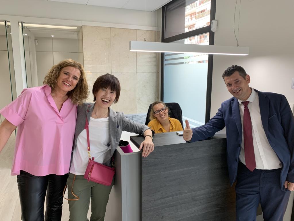 スペイン バルセロナ オフィス訪問