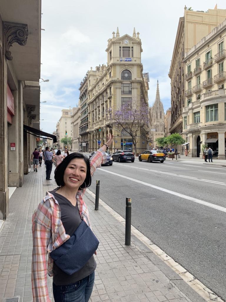 スペイン 街 バルセロナ