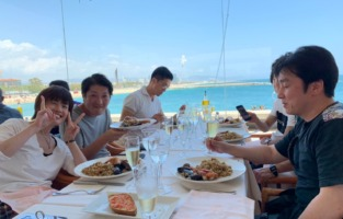 スペイン バルセロナ 海 レストラン ランチ