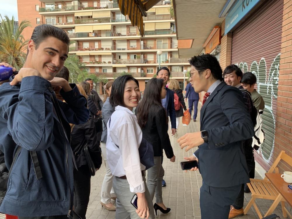 スペイン バルセロナ 企業 研修